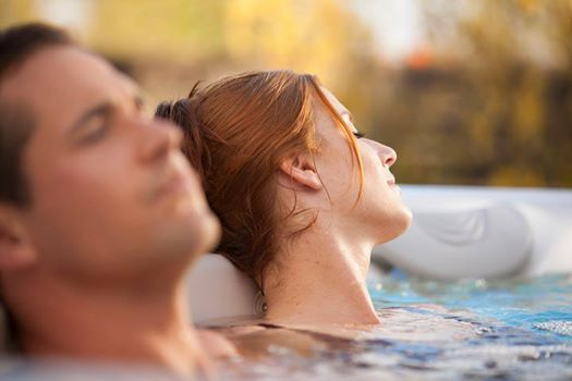 Soak your cares, aches and stress away